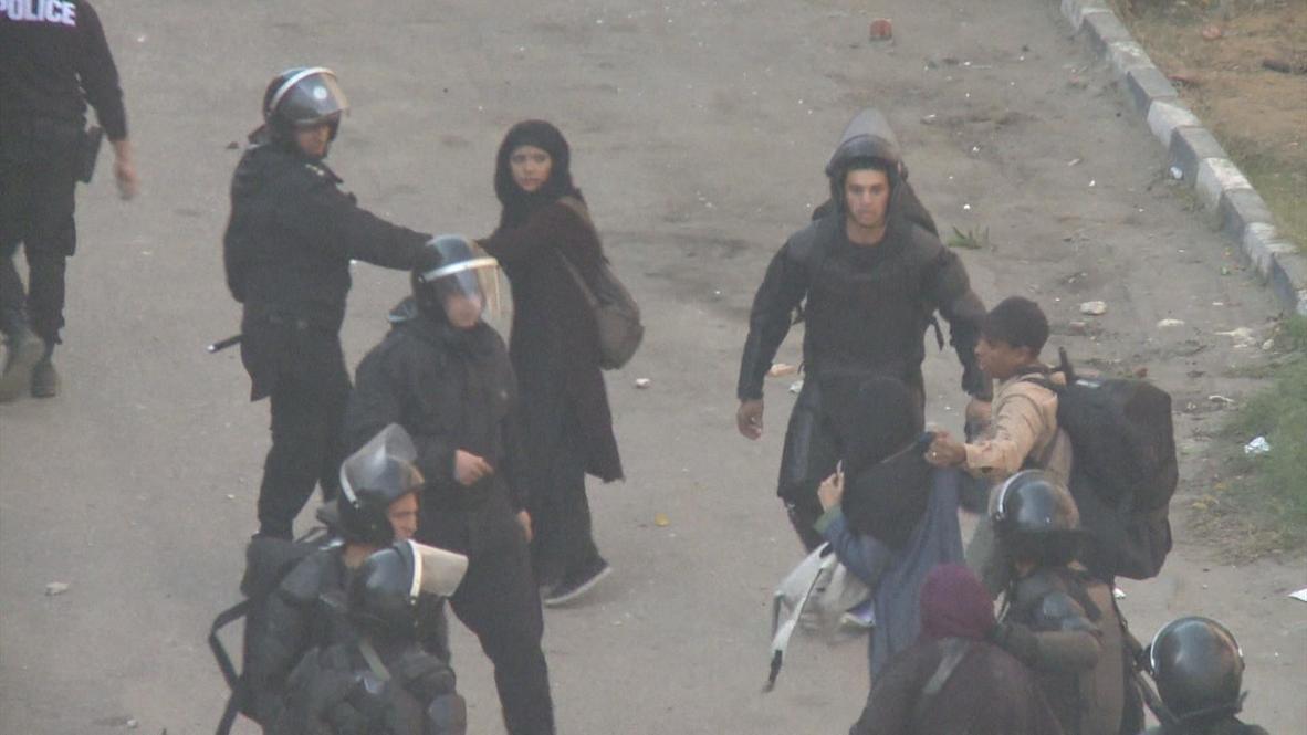 Egypt: Arrests made as Pro-brotherhood protesters burn University