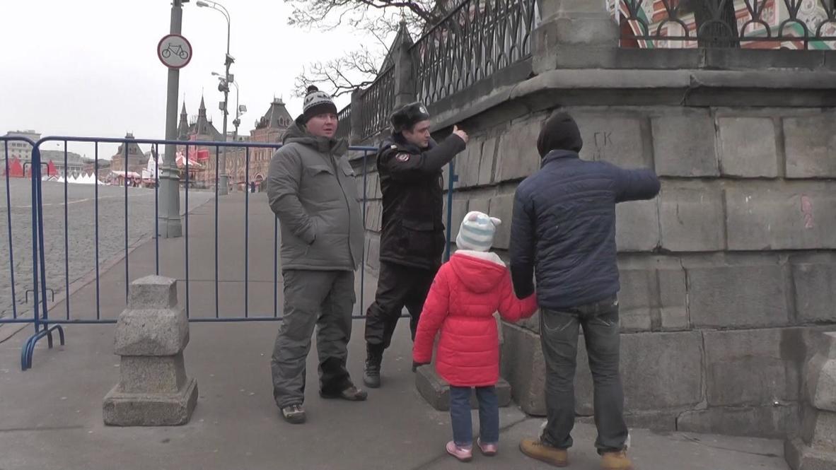 Russia: Suspicious bag has Red Square cordoned off