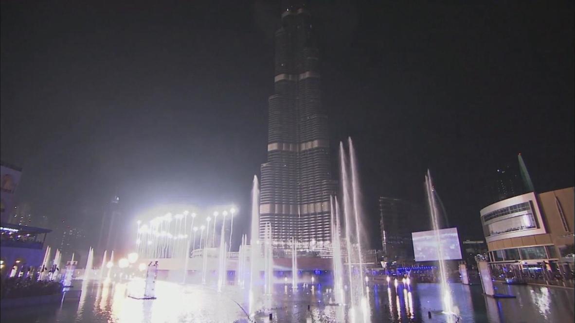 UAE: Dubai wows spectators at New Year Eve show