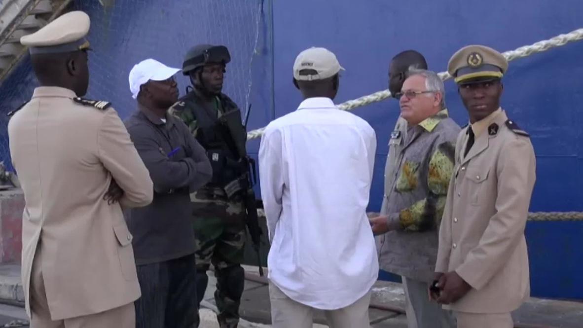 Senegal: Detained Russian fishing vessel brought to Dakar port