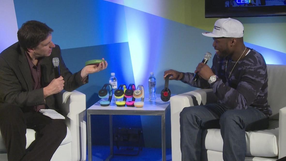 USA: 50 Cent touts live broadcast Hang W/ app