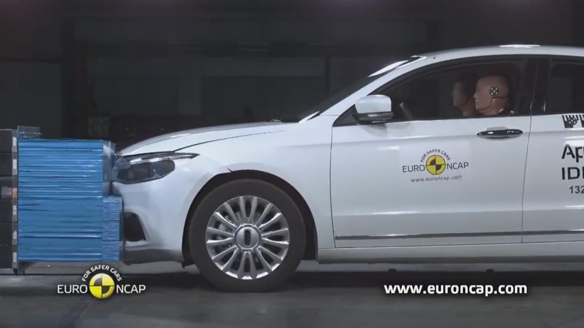 Belgium: Chinese-made sedan named safest car in the world
