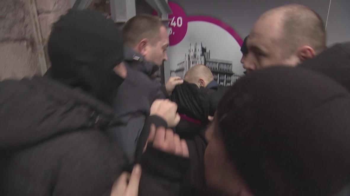 Ukraine: Attacker detained during LGBT / Euromaidan rally
