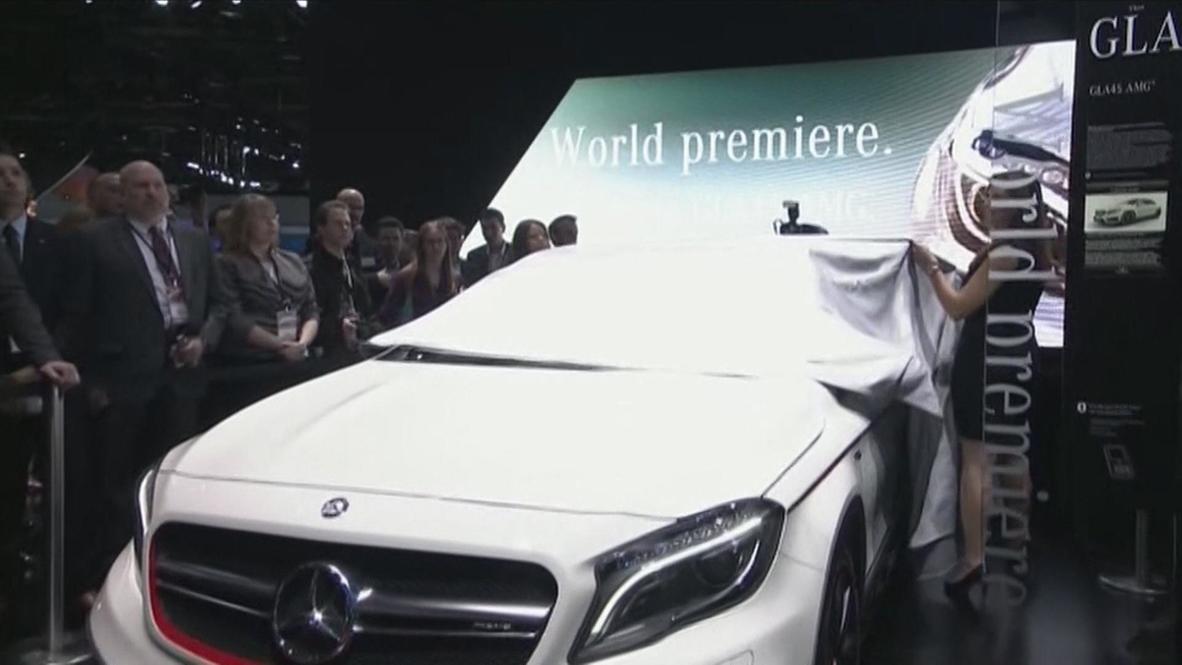 USA: Mercedes rolls out ultra-futuristic GLA 45 AMG