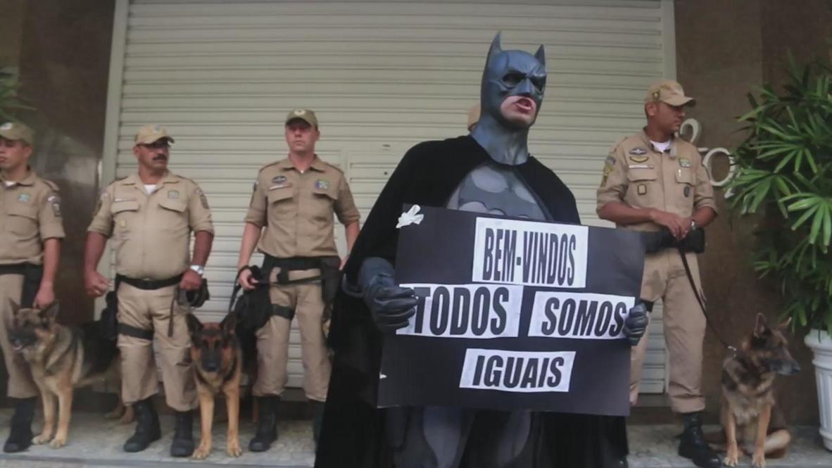 Brazil: Batman crusades for Rio's poor