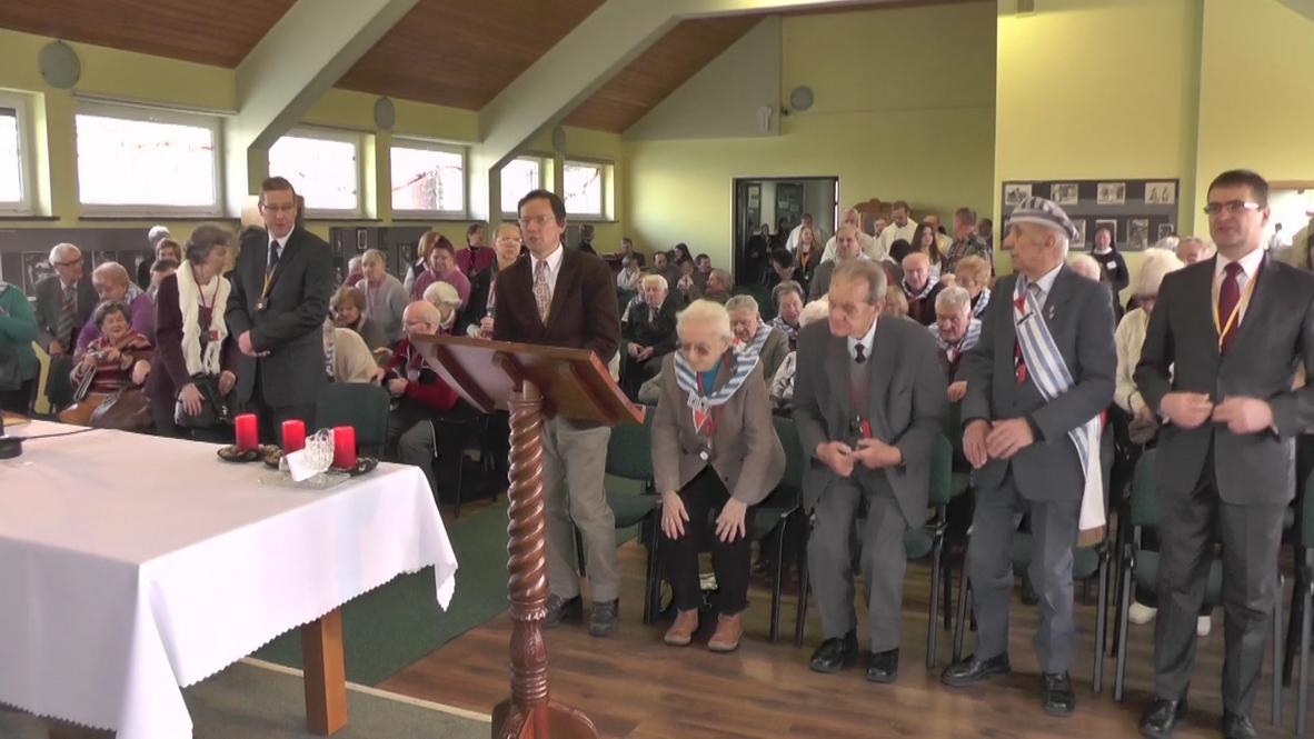 Poland: Holocaust survivors attend mass on anniversary of liberation
