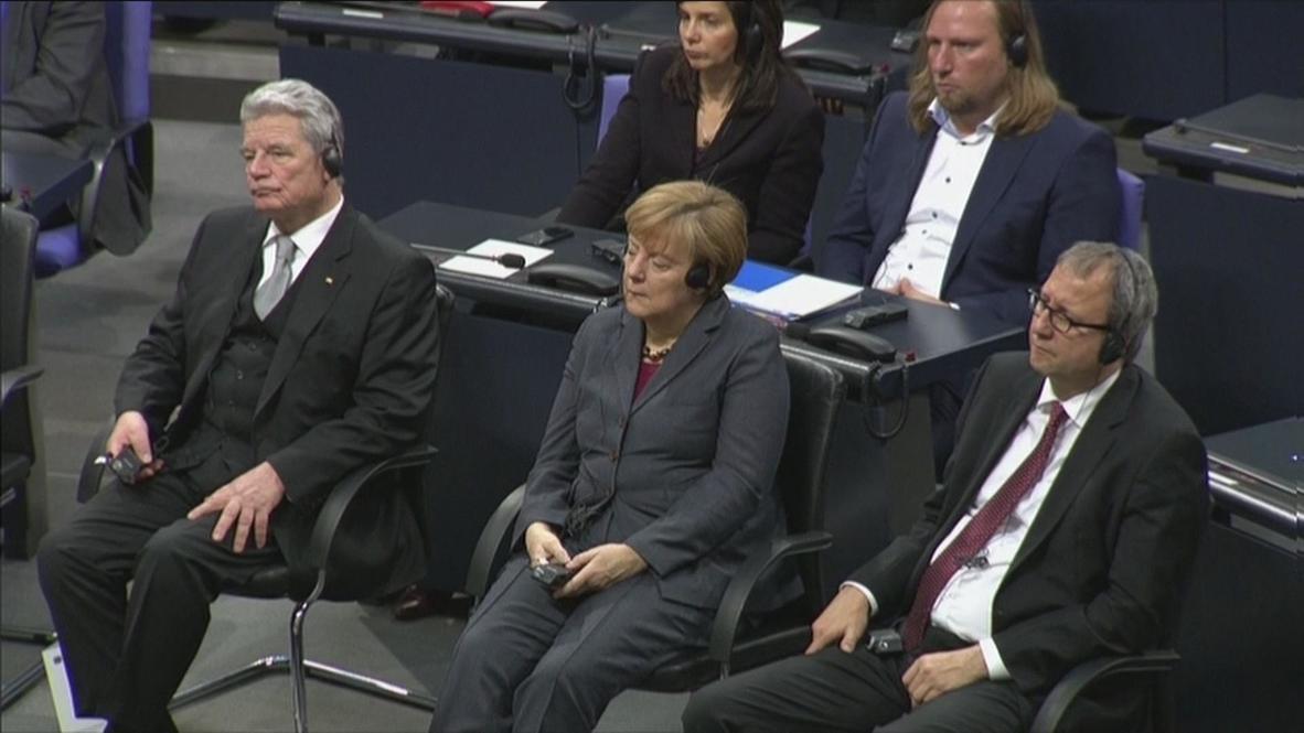 Germany: Leningrad veteran, Daniil Granin, addresses Bundestag