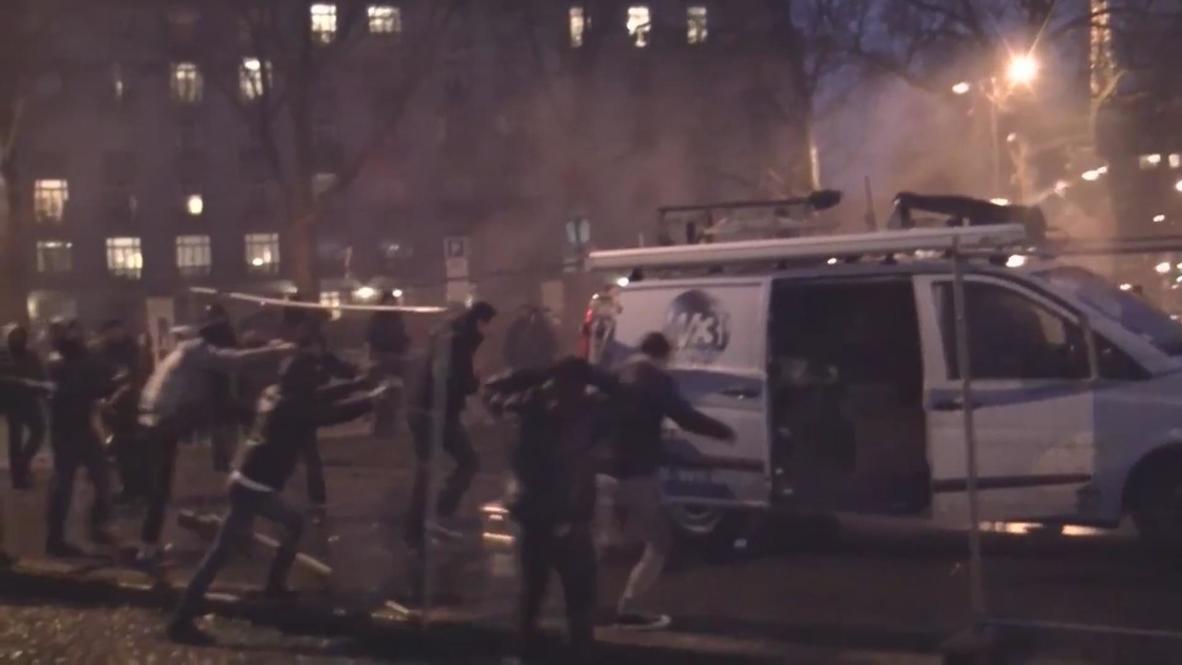 France: 'Day of Anger' rocks central Paris