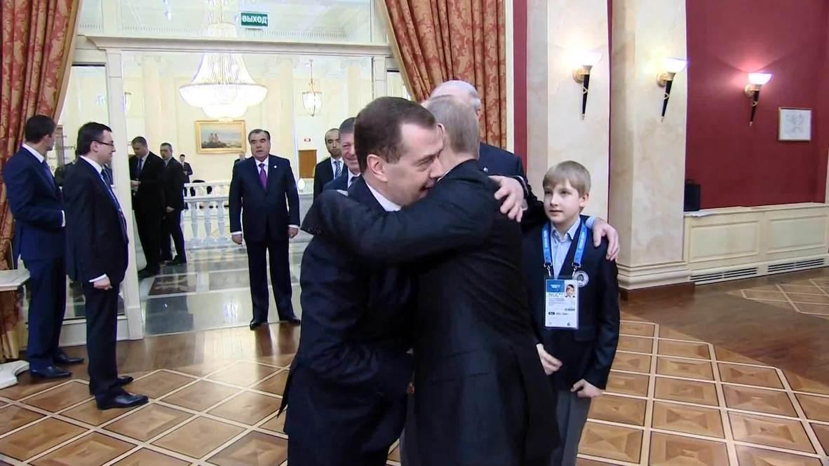 Russia: Putin greets world leaders ahead of Sochi opening