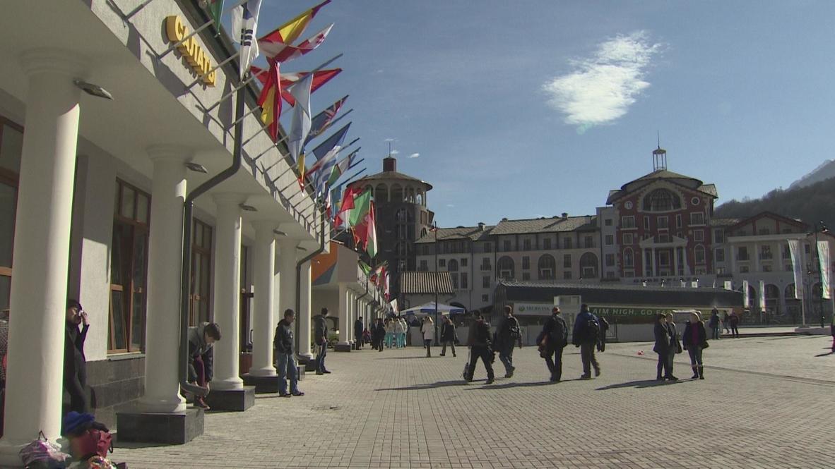 Russia: Sochi super resort opens to press