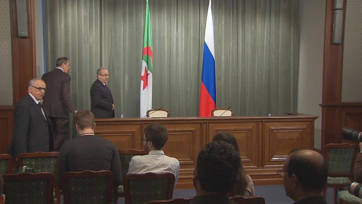 Russia: Lavrov and Algerian FM talk Syria, bilateral cooperation