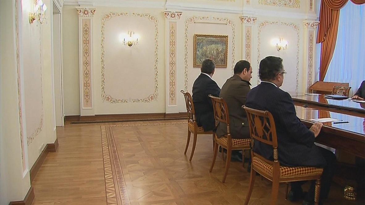 Russia: Putin wishes Sisi good luck in Egyptian presidential bid
