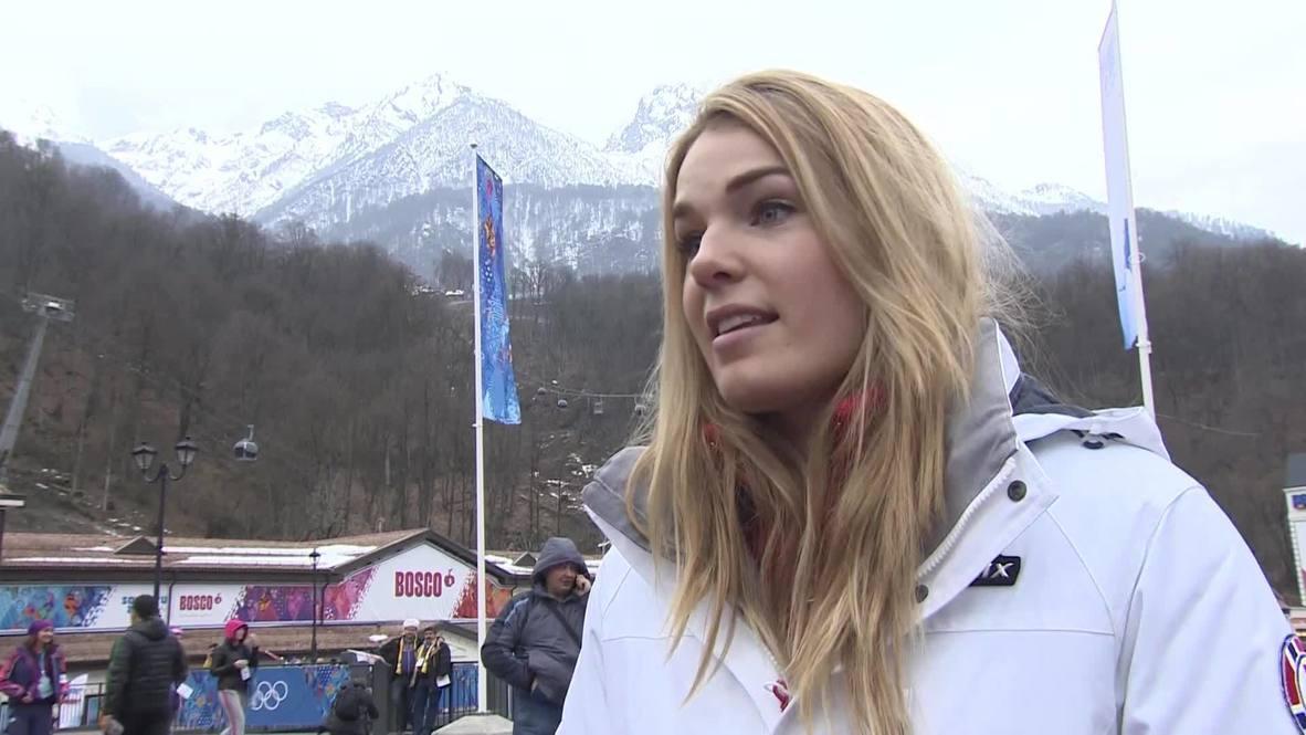 Russia: Norwegian skier Loeseth says fog delays 'normal'