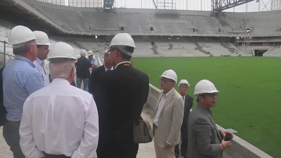 Brazil: Will Curitiba stadium be ready for World Cup?