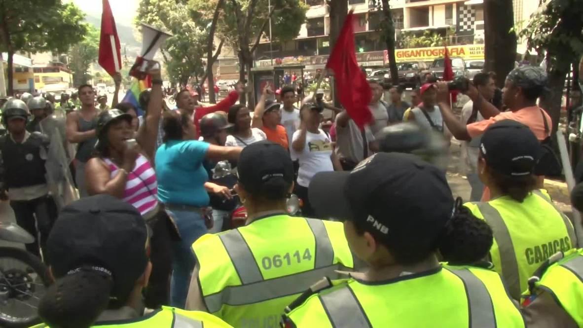 Venezuela: Tensions mount between anti and pro-government activists