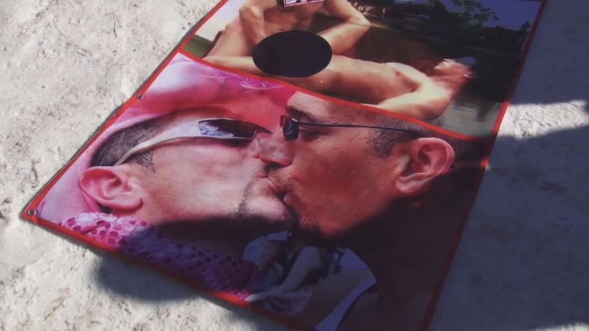 Kyrgyzstan: LGBT 'propaganda' sparks protest outside US embassy
