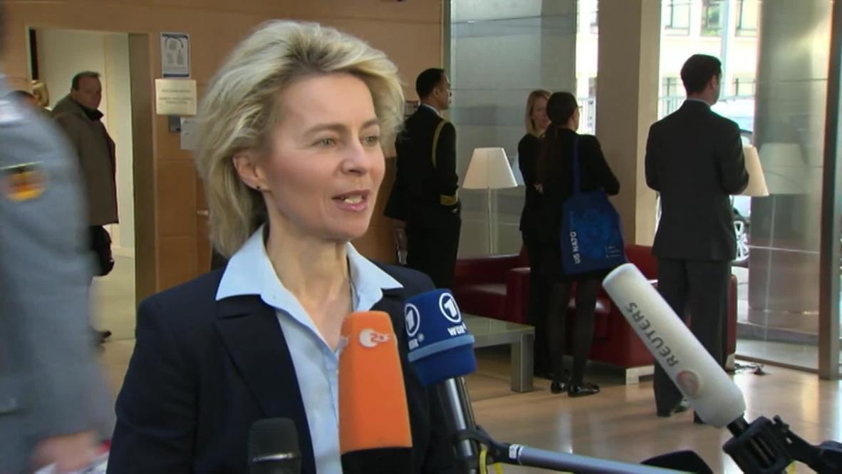 """Belgium: Strengthen special forces to """"keep Ukraine together"""" - von der Leyen"""