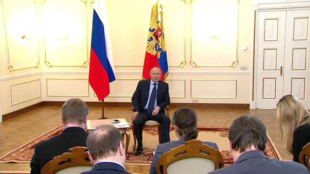 Russia: Russia not considering annexing Crimea - Putin