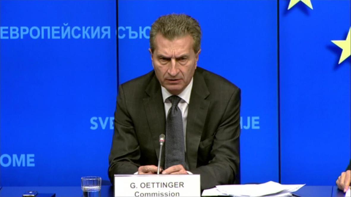 Belgium: Ukraine situation has no effect on European gas supply - EC Commissioner for Energy