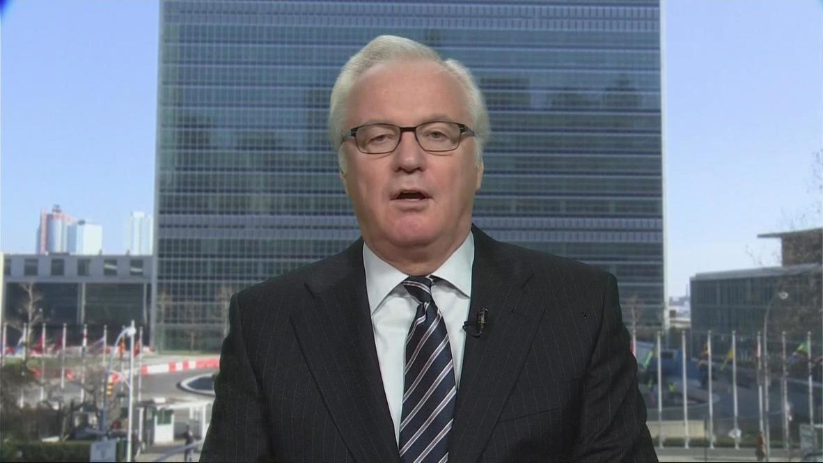 USA: US media ignored Paet's sniper revelation - Russia's UN envoy