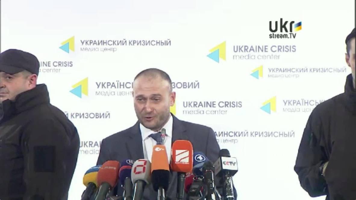 Ukraine: Compromises go against Maidan values - 'Right Sector' leader