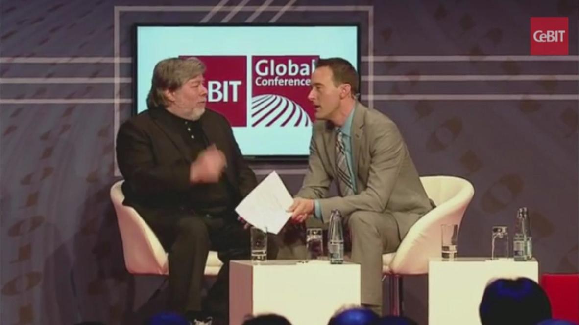 Germany: Snowden is my hero- Apple co-founder Wozniak