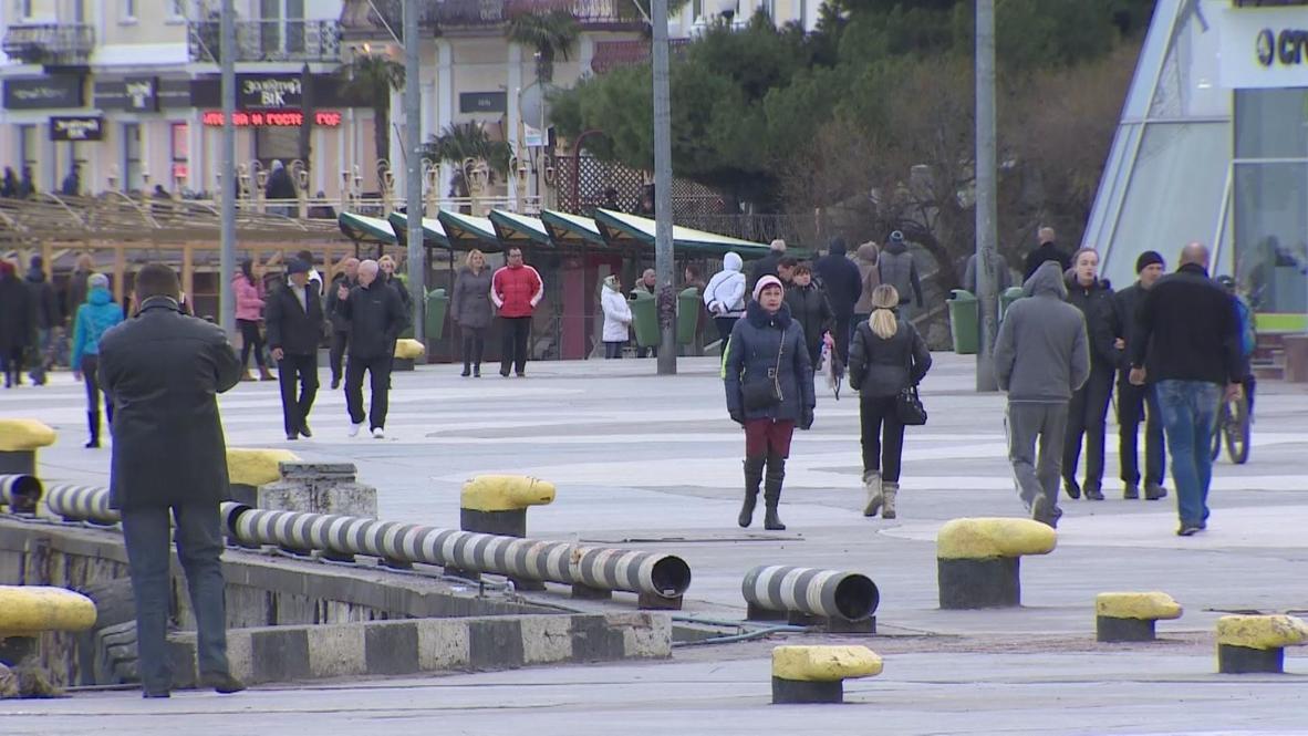 Ukraine: Yalta votes in Crimea referendum