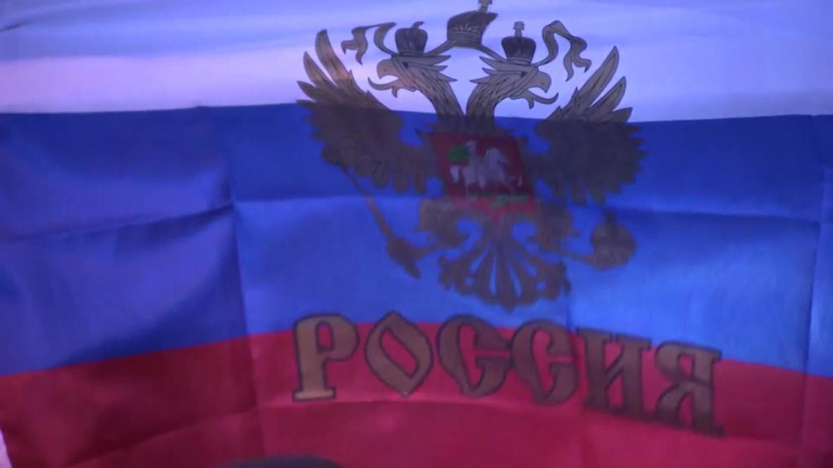 Ukraine: Simferopol celebrates referendum results