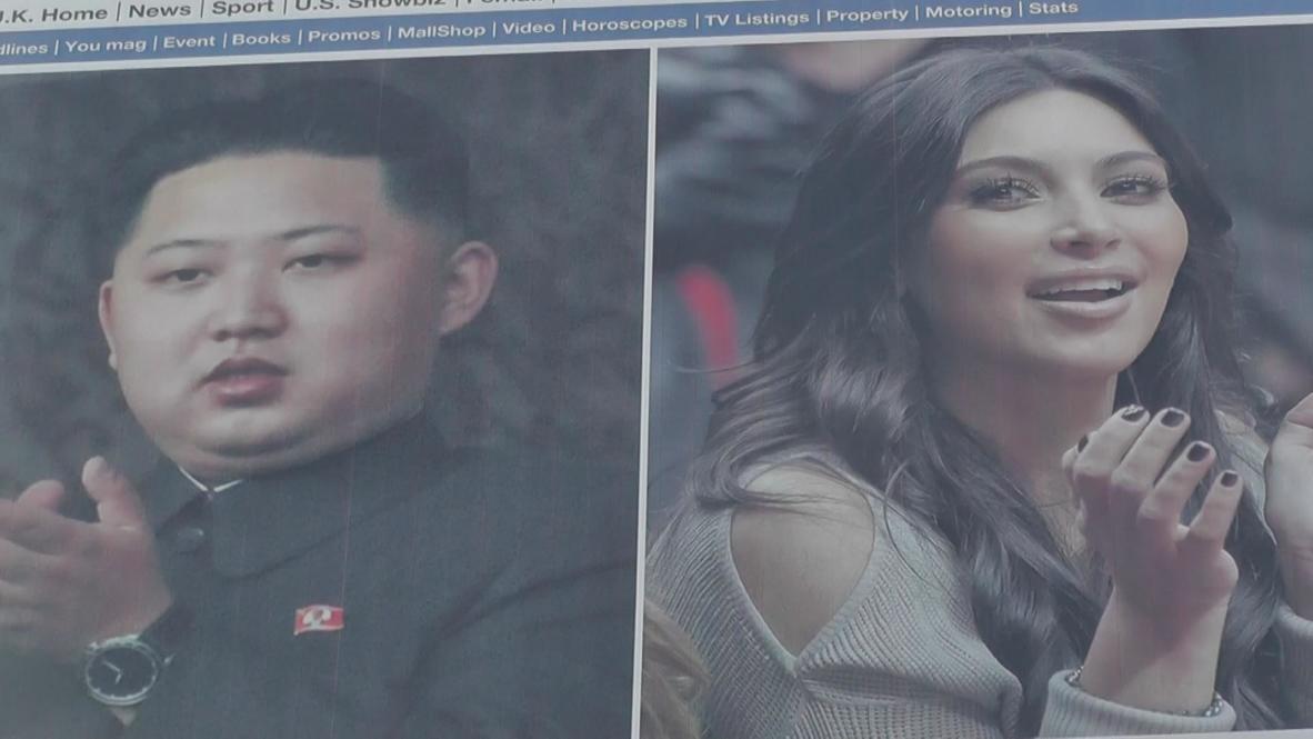 USA: LA billboard is a real North Korean Kimtastrophe