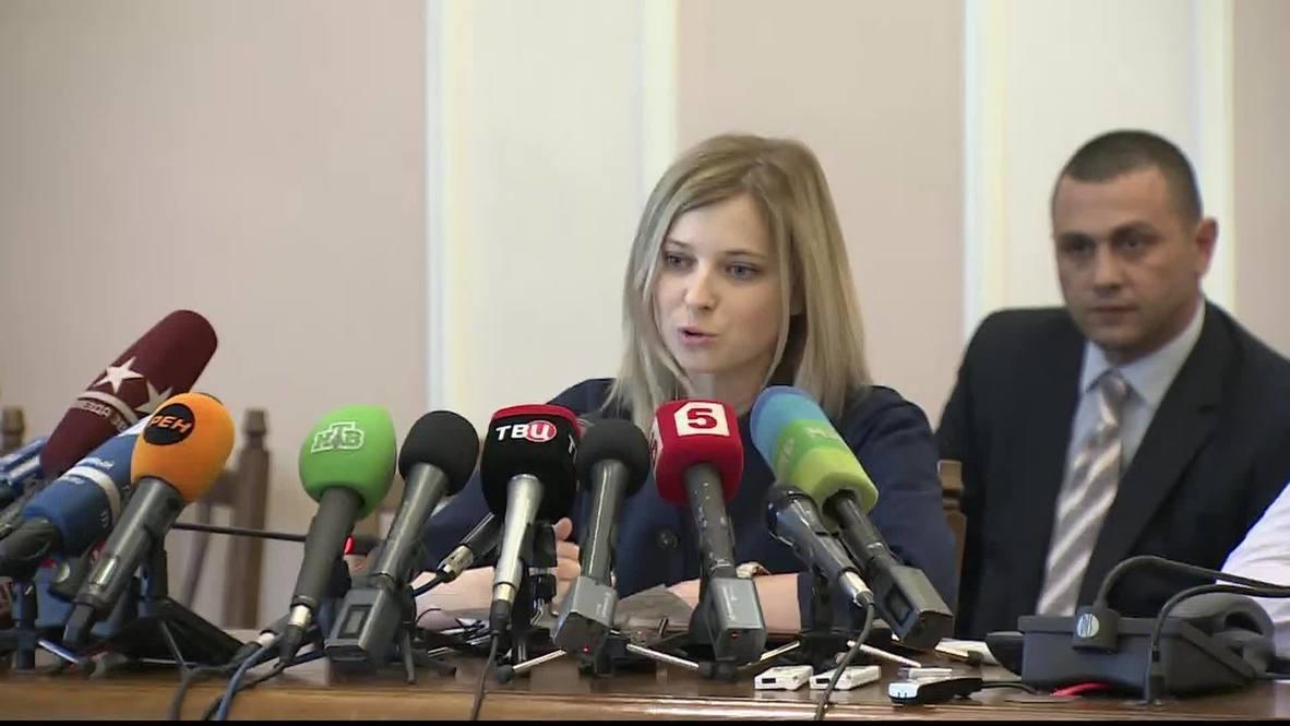 Russia: Simferopol sniper still at large - Crimean prosecutor