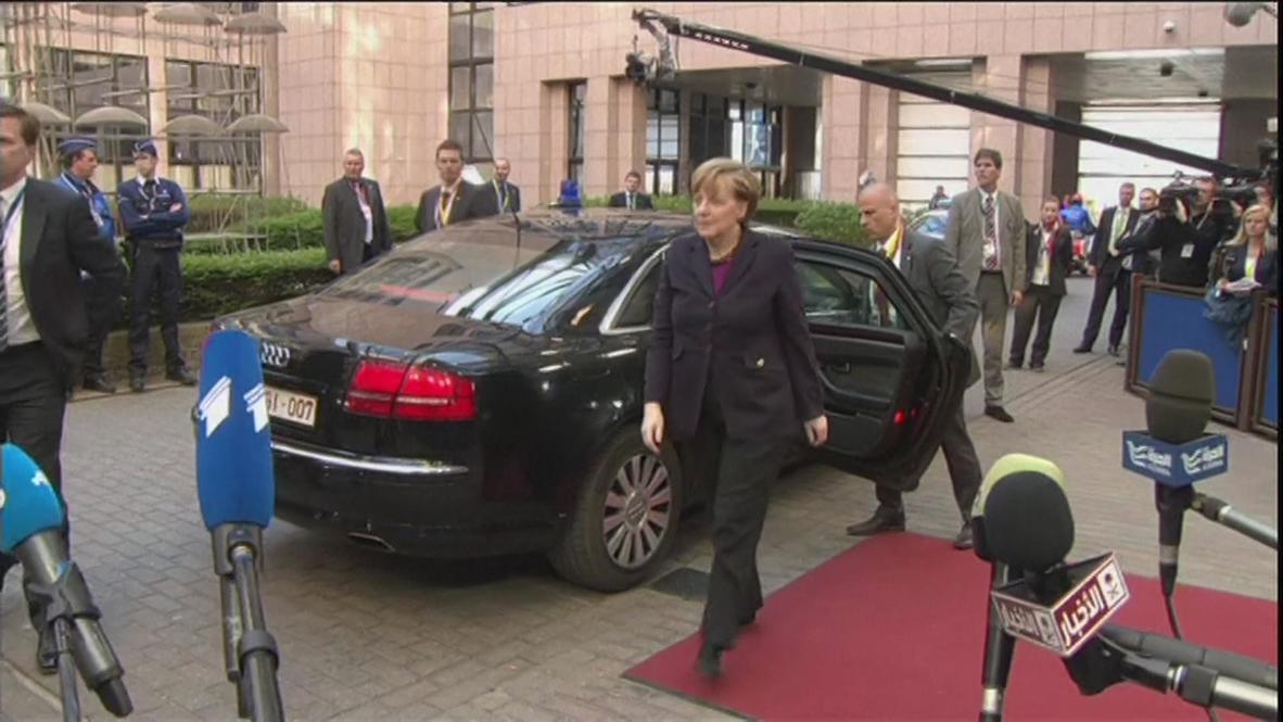 Belgium: European leaders gather for Ukraine crisis summit