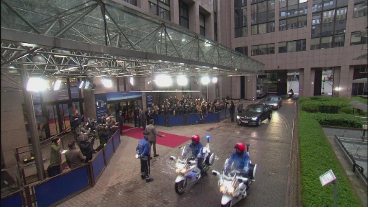 Belgium: European leaders gather for second day of Ukraine summit