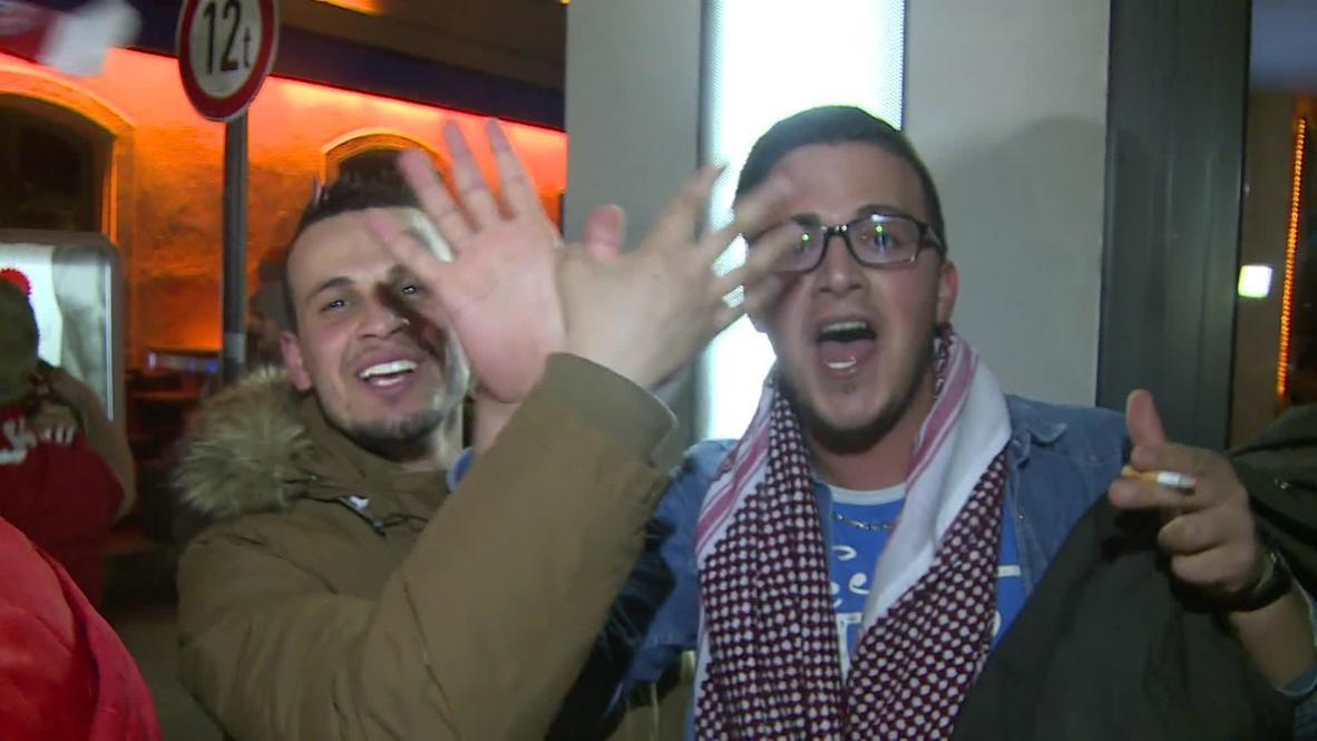 Germany: FC Bayern Munich fans go crazy after winning Bundesliga