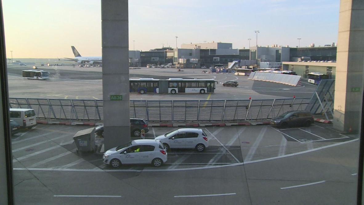 Germany: Strike action leaves Frankfurt airport empty