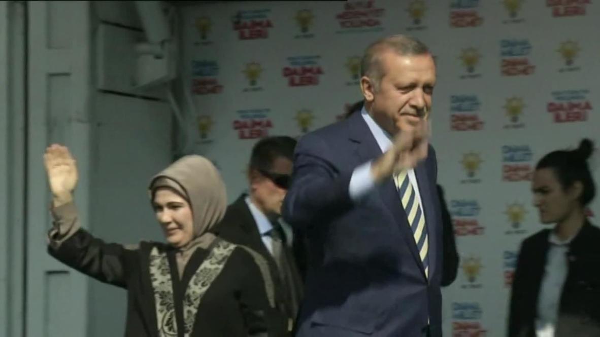 Turkey: Erdogan's high-pitch speech has to be heard!