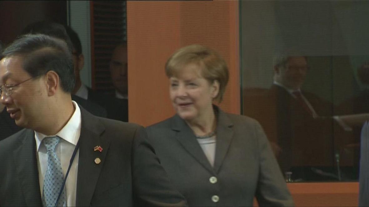 Germany: Merkel and Jinping meet in Berlin