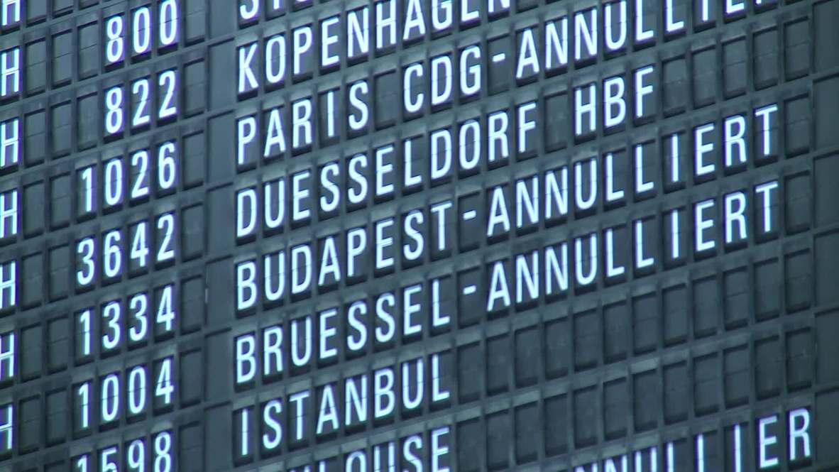 Germany: Lufthansa pilot strike grounds thousands of passengers