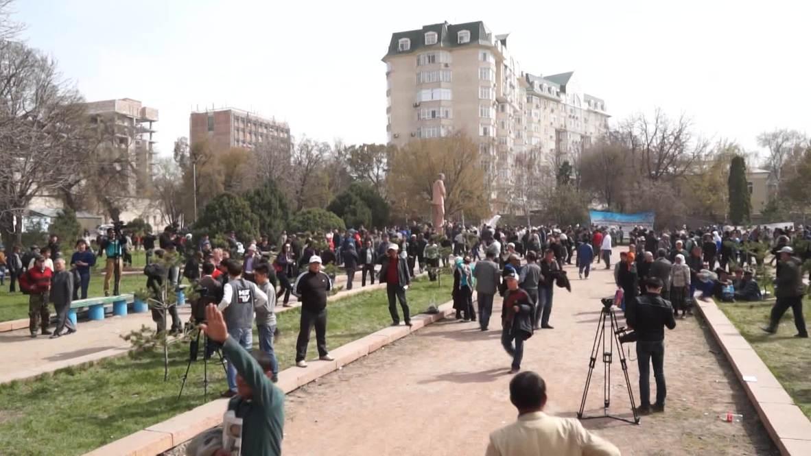 Kyrgyzstan: Opposition turn ire on President Atambayev