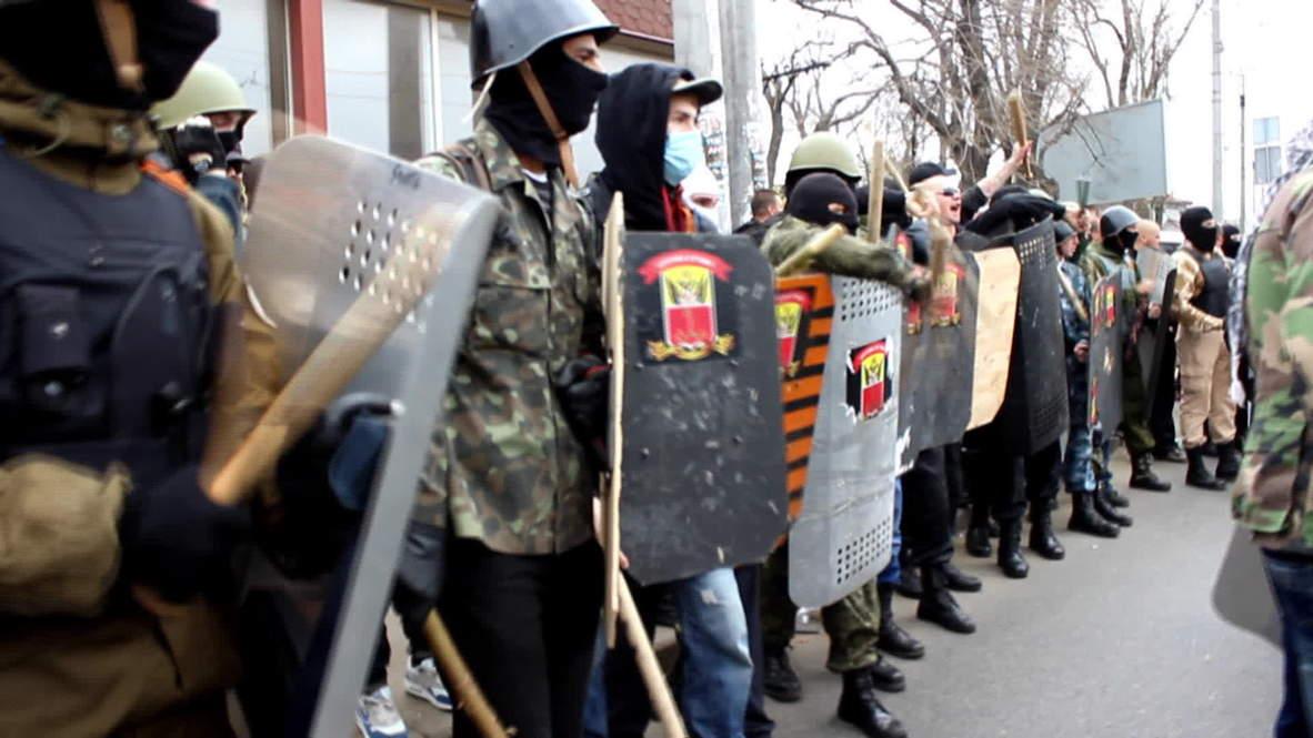 Ukraine: Seven injured in scuffles during Odessa protest
