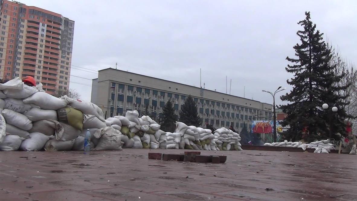 Ukraine: Lugansk pro-Russians refuse to budge