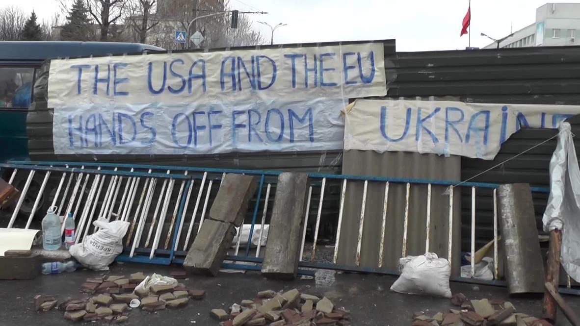 Ukraine: Backstage behind the barricades in Lugansk