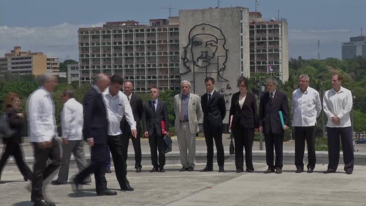 Cuba: Fabius on first high level Havana visit in 30 years