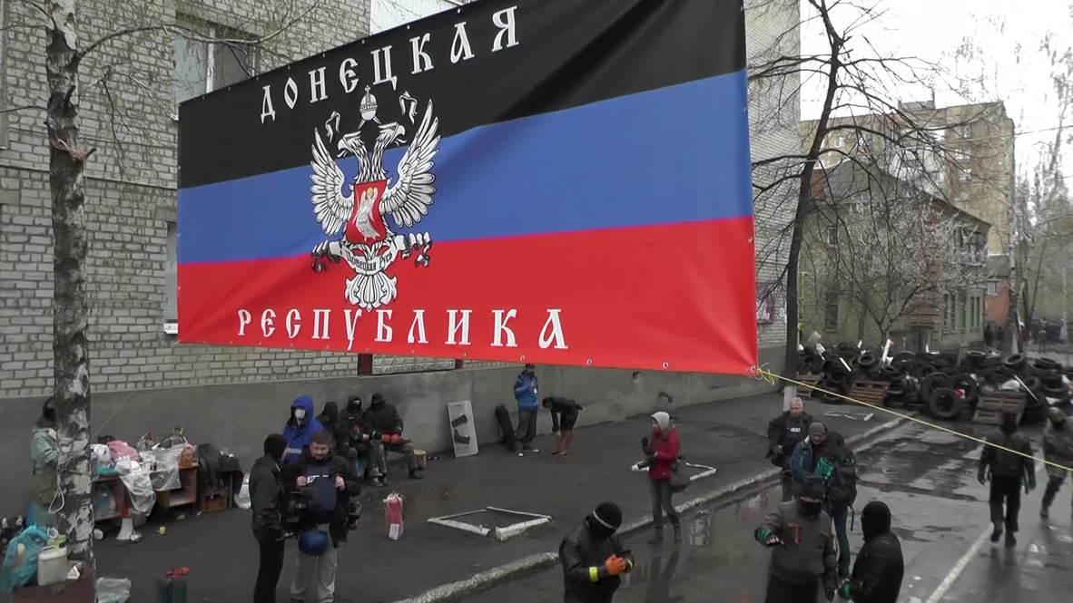 Ukraine: Behind the barricades as pro-Federalists hold Slavyensk