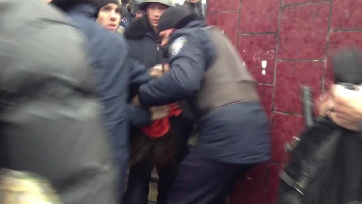 Ukraine: Arrests made in Kharkov protests