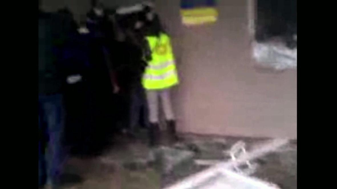 Ukraine: Anti-gov protesters storm Gorlovka police station
