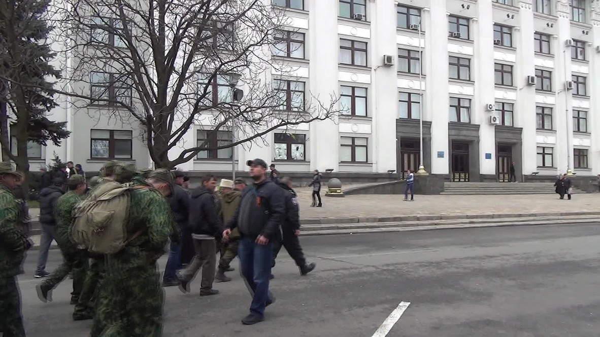Ukraine: Lugansk self-defence leader pushes for indepenedence from Kiev