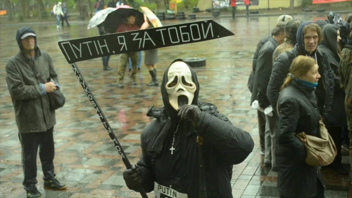 "Ukraine: ""Putin, I've come to take you"" - Grim Reaper"