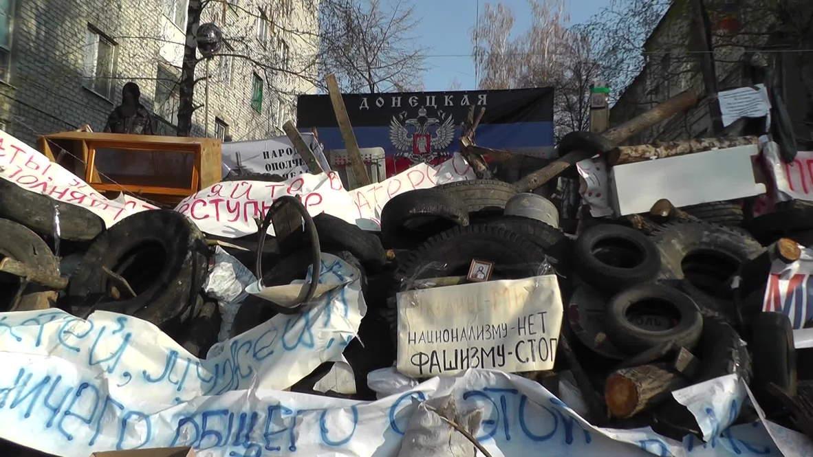 Ukraine: Slavyansk protesters continue to defy Kiev crackdown