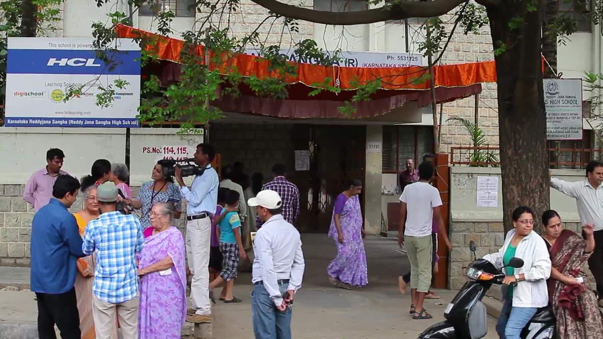 India: Bangalore's 'Bill Gates' casts his vote