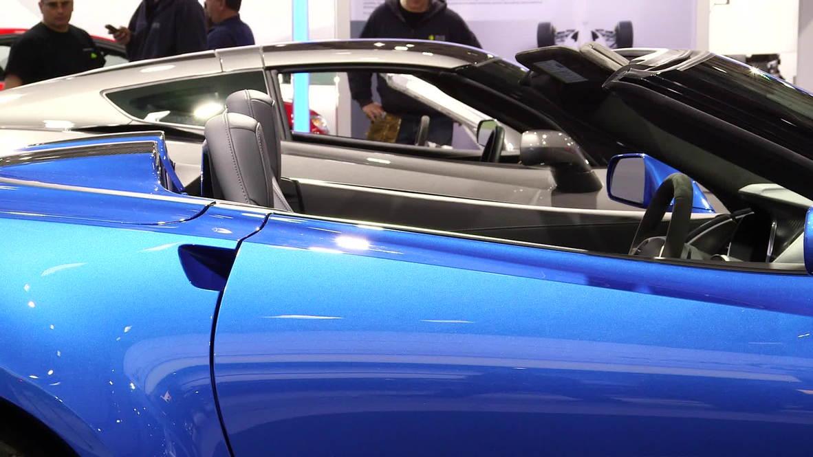 USA: Sexy Chevy Corvette Stingray to premier in Russia
